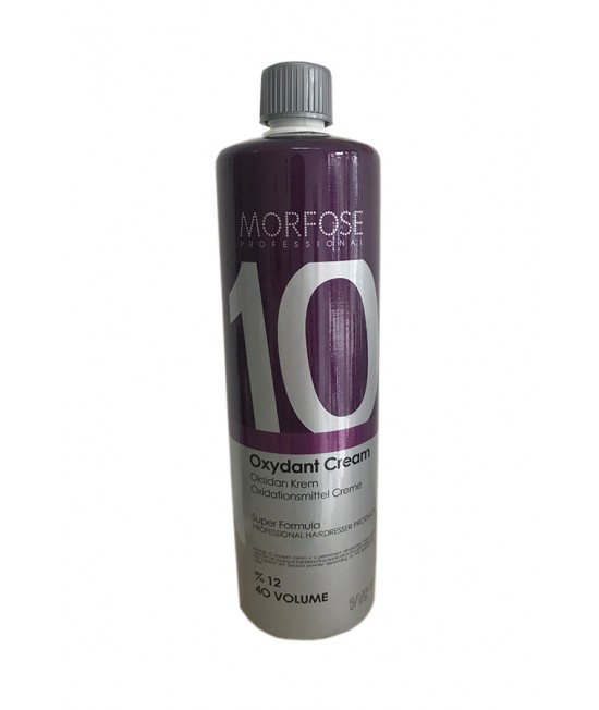 Professional Oxidant - 12% Morfose Professional Color Lock Oxydant Cream, 40 VOLUME, 1000ml.