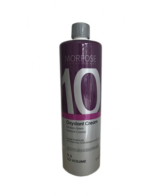Professional Hair Moisturizer Morfose Professioanal Color Lock Oxydant Cream 3%, 10 VOLUME, 1000ml.