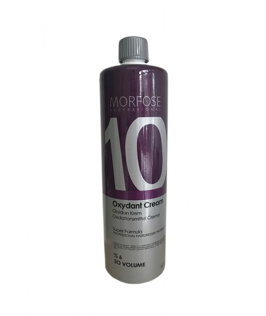 Professional Hair Moisturizer Morfose Professioanal Color Lock Oxydant Cream 6%, 20 VOLUM, 1000 ml.