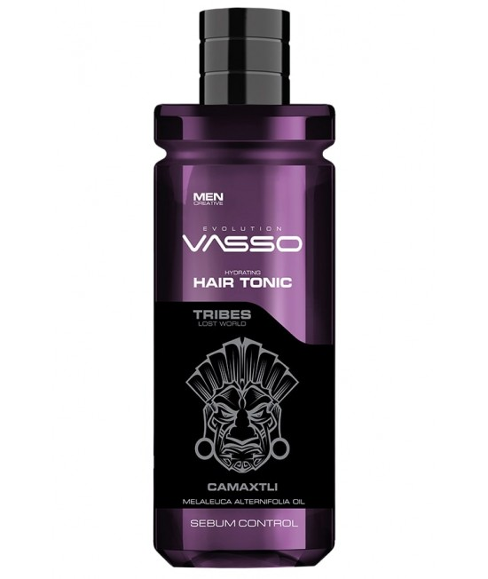 VASSO HAIR TONIC SEBUM CONTROL CAMAXTLI FOR OILY HAIR Professional Tonic for Oily Hair, 260ml.