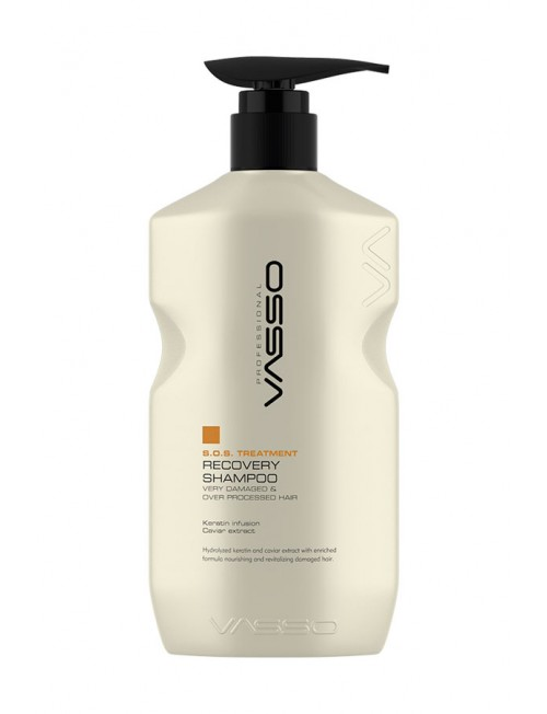 Professional hair restoration shampoo VASSO S.O.S TREATMENT SHAMPOO, 1500ml
