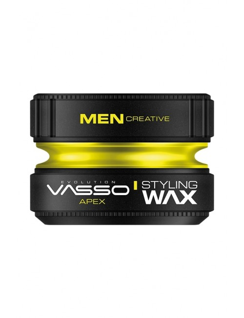 Professional hair wax for matte effect VASSO STYLING WAX PRO-MATTE PASTE APEX, 150ml.