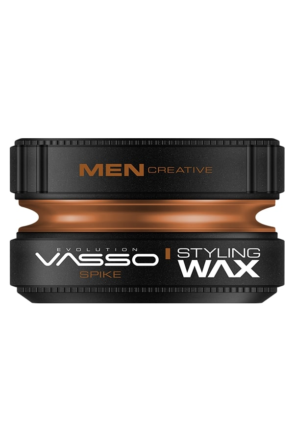 Professional hair wax for strong fixation and matting effect VASSO STYLING WAX PRO-CLAY SPIKE, 150ml.
