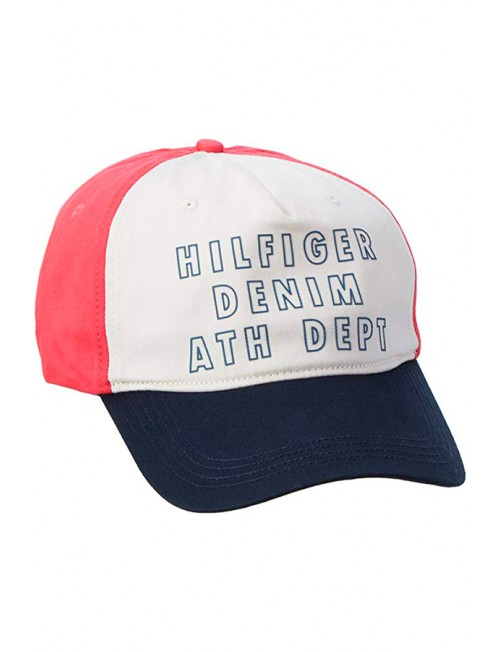 Tommy Hilfiger Baseball Cap DM0DM01480, baseball cap with visor, men's, universal size, multi-colored.
