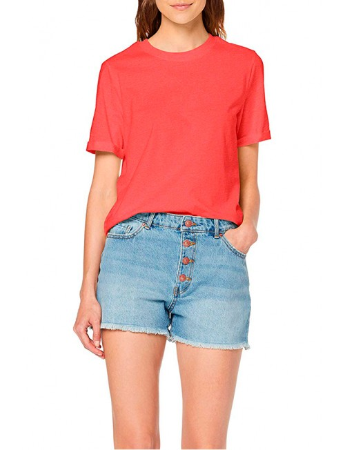 Pieces Solid Tee Noos 17086970, women's T-shirt