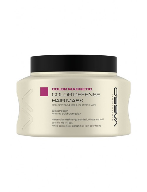 Professional Hair Color Mask VASSO MAGNETIC COLOR DEFENSE HAIR MASK, 150ml