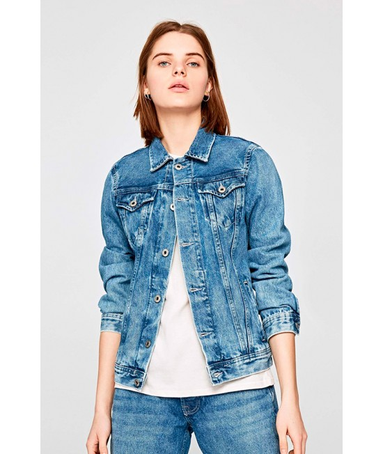Pepe Jeans London, women's denim jacket.