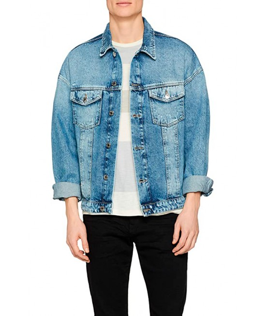 Jack & Jones Denim Jacket 12148223, men's denim jacket.