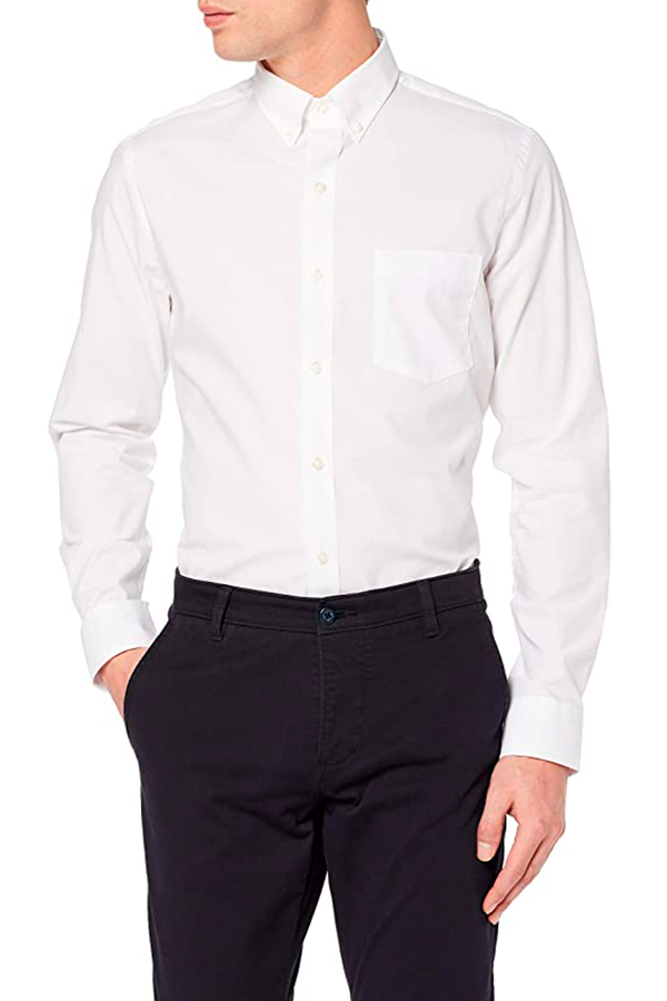 Izod Poplin Stretch Casual Shirt 00045BW547, men's shirt.