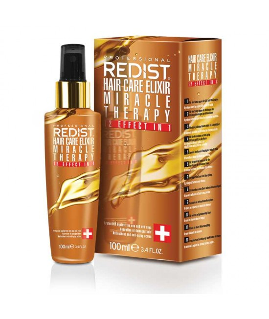 Professional Hair Serum 12 in 1 Redist Hair Care Elixir Miracle Oil, 100ml