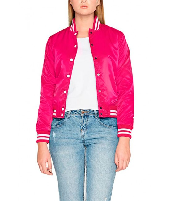 Urban Classic Shiny College Women's Jacket