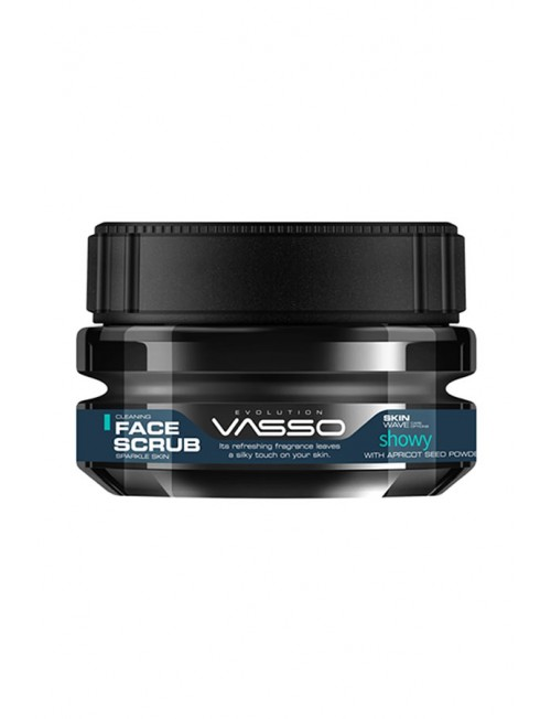 Vasso Showy Cleaning Face Scrub, 250ml