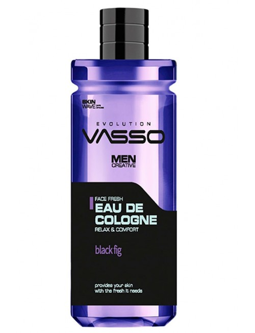 Professional cologne with black fig Vasso Eau De Cologne Black Fig, 370ml.