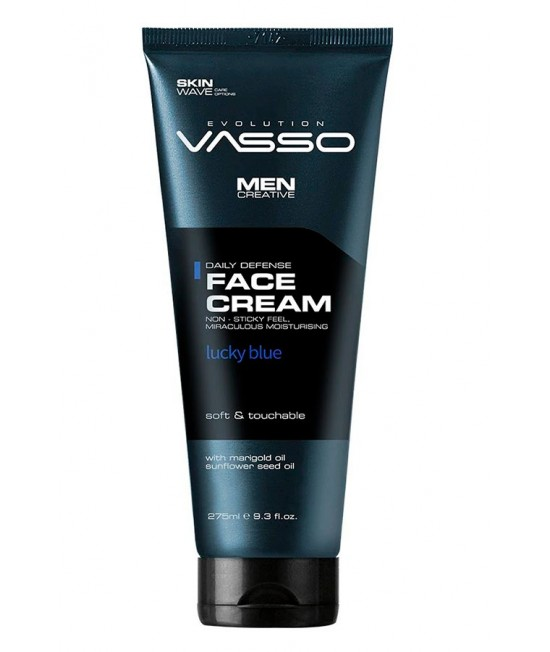 Professional moisturizing face cream Vasso Lucky Blue, 275ml