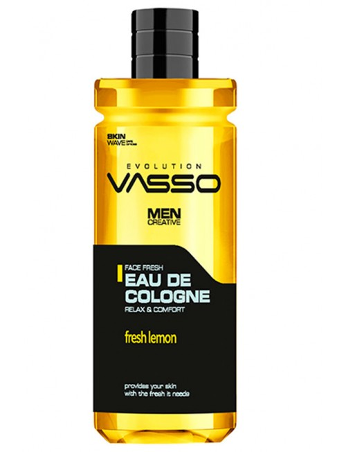 Professional cologne with lemon Vasso Eau De Cologne Lemon, 370ml.