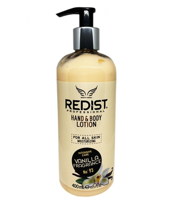 Redist Hand & Body Lotion Maximum Effect Vanilla, 400ml.