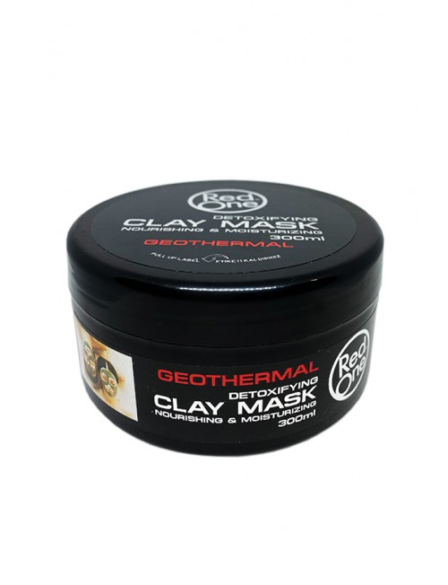 RedOne Detoxifying Clay Mask Nourishing & Moisturizing Geothermal, 300ml.