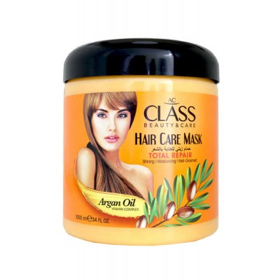 Hair mask with argan for dry and damaged hair AC CLASS MASK ARGAN OIL, 1000ML.