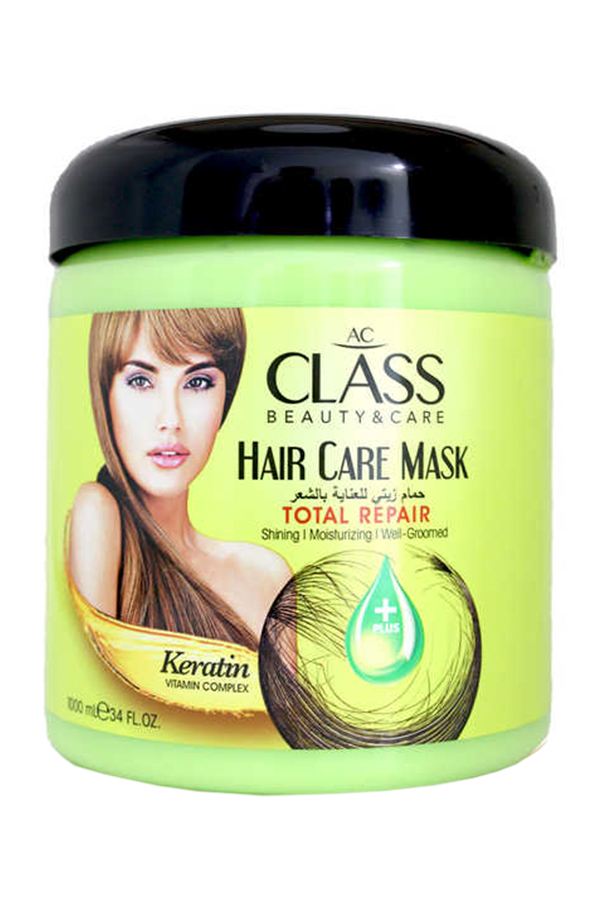 Keratin hair mask for dry and worn hair AC CLASS HAIR CARE MASK KERATIN, 1000ML.