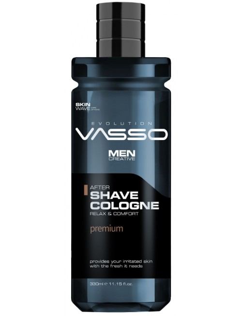 Professional aftershave cologne with spices Vasso After Shave Cologne Premium, 370ml.