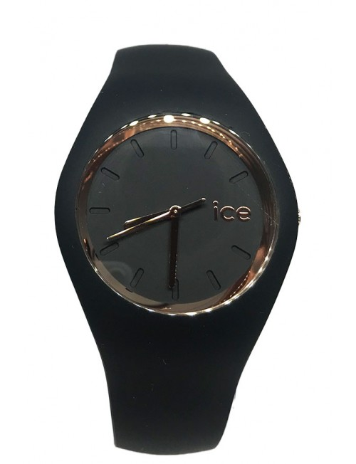 Ladies watch ICE-Watch Ice Glam rosegold black