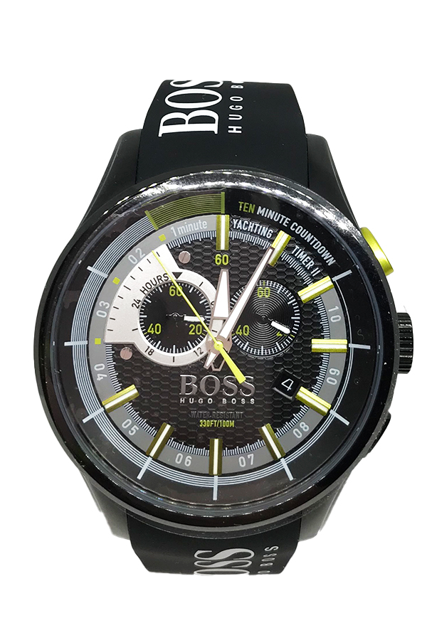 Men's Watch Hugo Boss Black Yachting Timer 1513337
