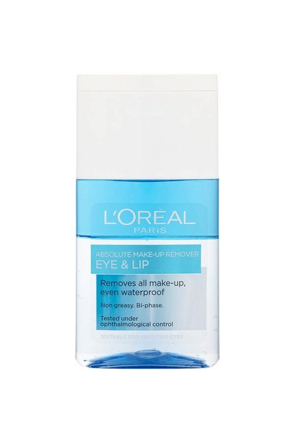L'oreal Paris Absolute Make-Up Remover EYE And LIP 125ml.