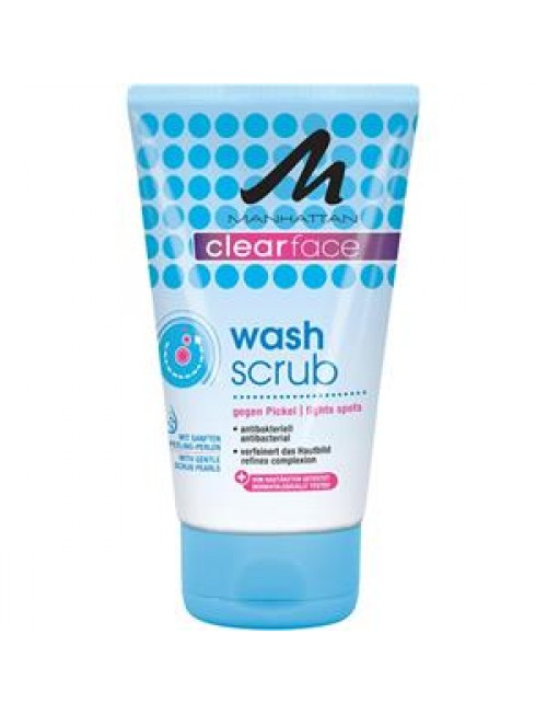 Manhattan Clearface Wash Scrub 125ml