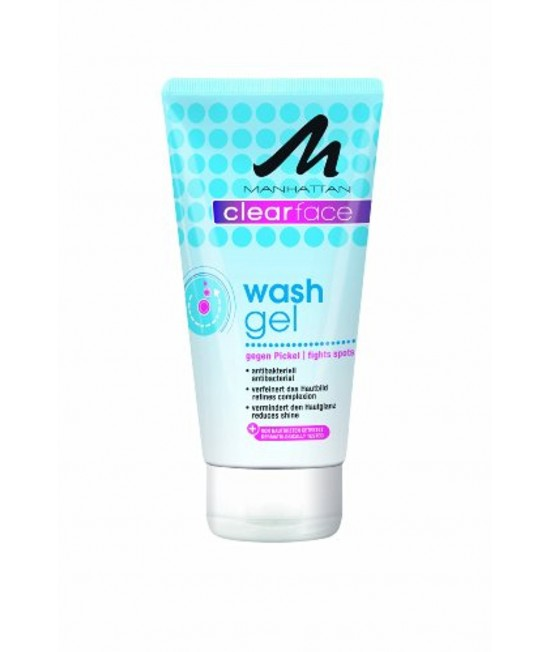 Manhattan Clear Face Wash Gel 150 ml