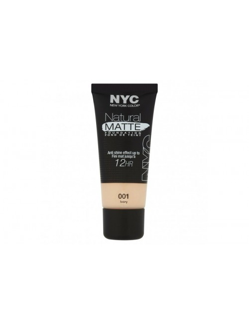 NYC Natural Matte Foundation 30ml