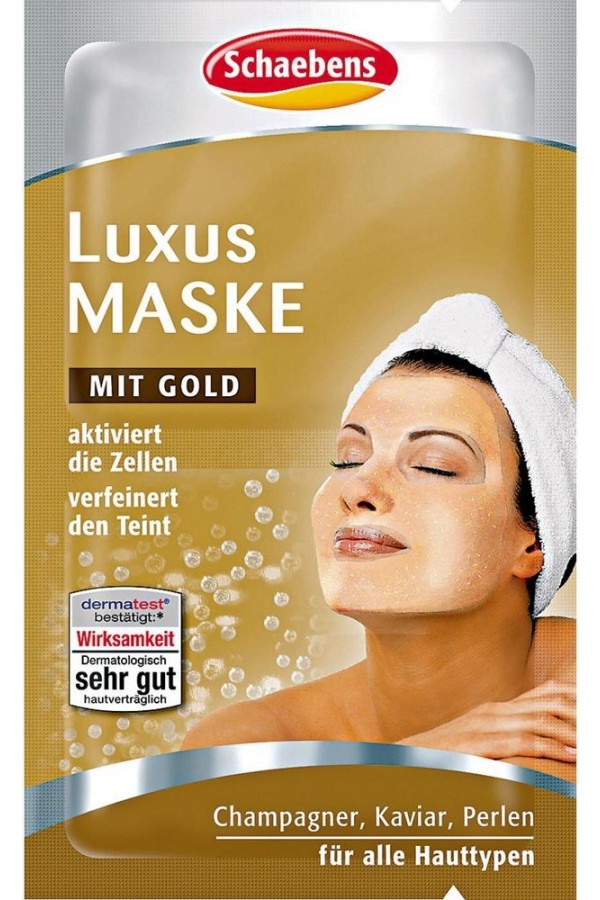 Schaebens Luxury Mask With Gold