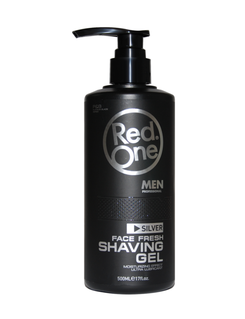 Professional RedOne Shaving Gel With Pump 500ml