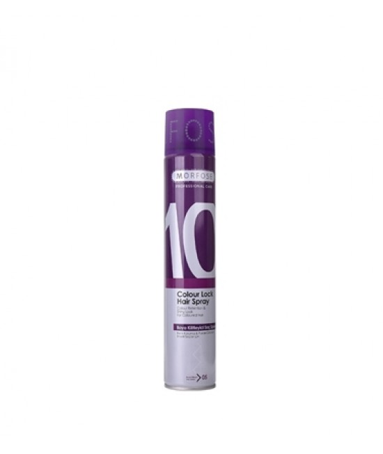 Professional Hair Spray Morfose (10) Color Lock 400 ml.