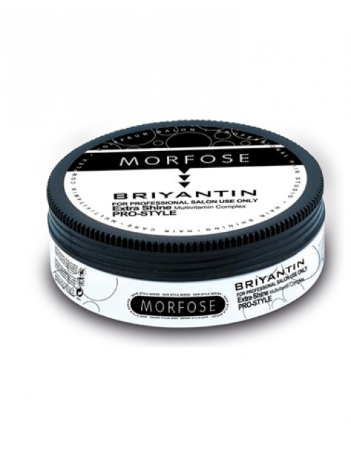 Morfose Professional Briyantin Extra-Shine Multivitamin Complex Hair Wax, 175ml.
