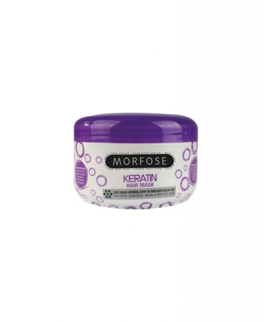 Morfose Professional Keratin Hair Care Mask, 500ml.