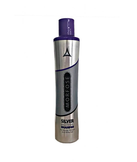 Professional Shampoo Morfose Color Lock Silver Brightening 350 ml.