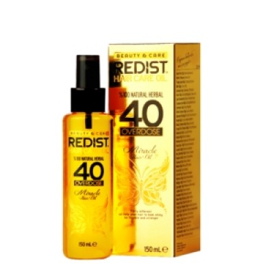 Redist Professional 40 Overdose Hair Care Oil, 150ml.