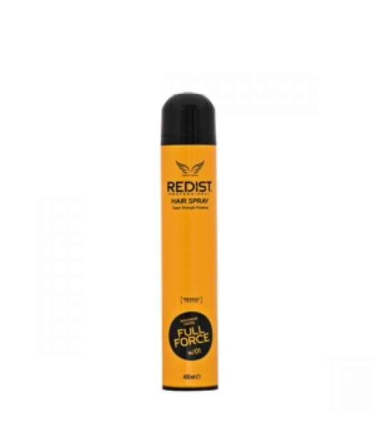 Professional Hair Spray Redist Full Force 01 400 ml.