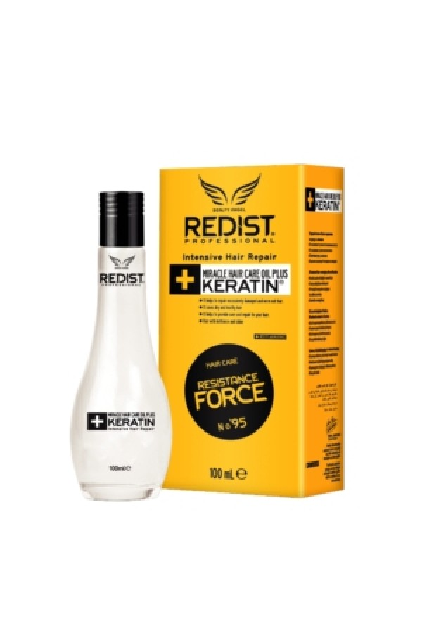 Professional hair crystals with keratin Redist Professional Miracle Keratin Hair Care Oil, 100ml.