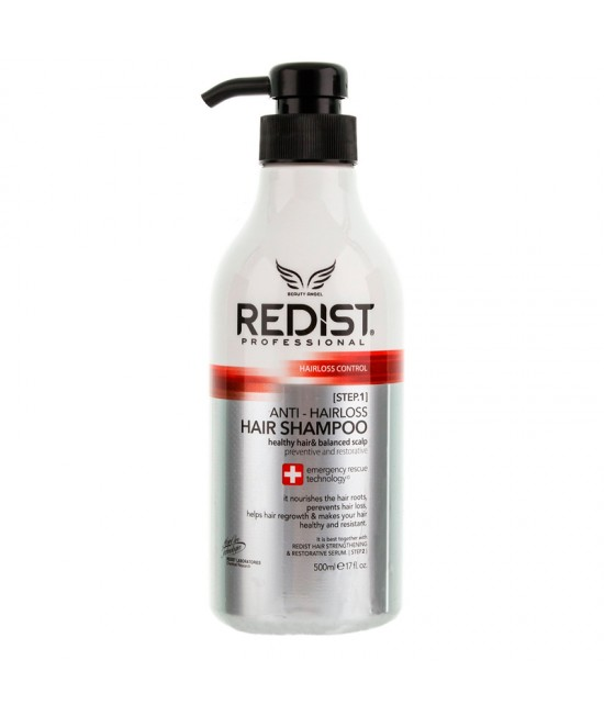 Redist Professional Anti-hairloss Hair Shampoo, 500ml.