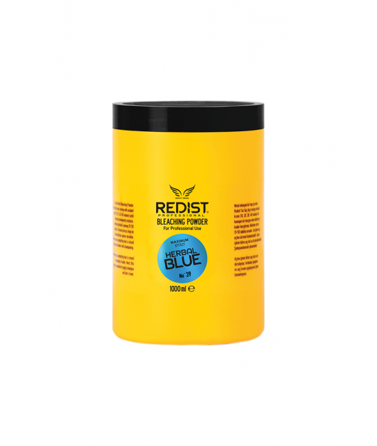 Professional bleaching powder for hair Redist Professional No. 39 Herbal Blue, 1000ml.