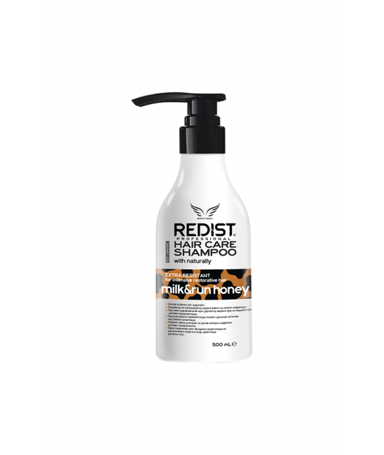 Redist Professional Milk & Run Honey Hair Care Shampoo, 500ml.