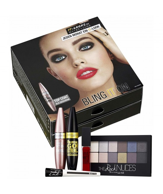 Cosmetics Set Maybelline Jeden Monat Eint It-Look