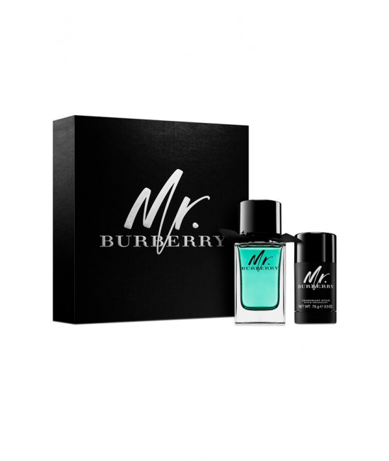 Burberry Mr. Burberry toilet water 100ml + deostic 75ml