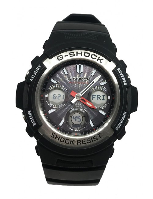Men's Watch Casio G-Shock AWG-M100A-1AER