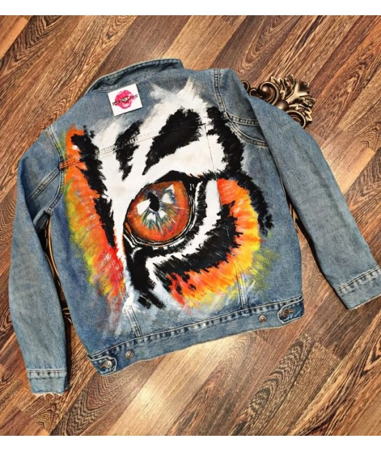 Unique Ladies Jeans Jacket