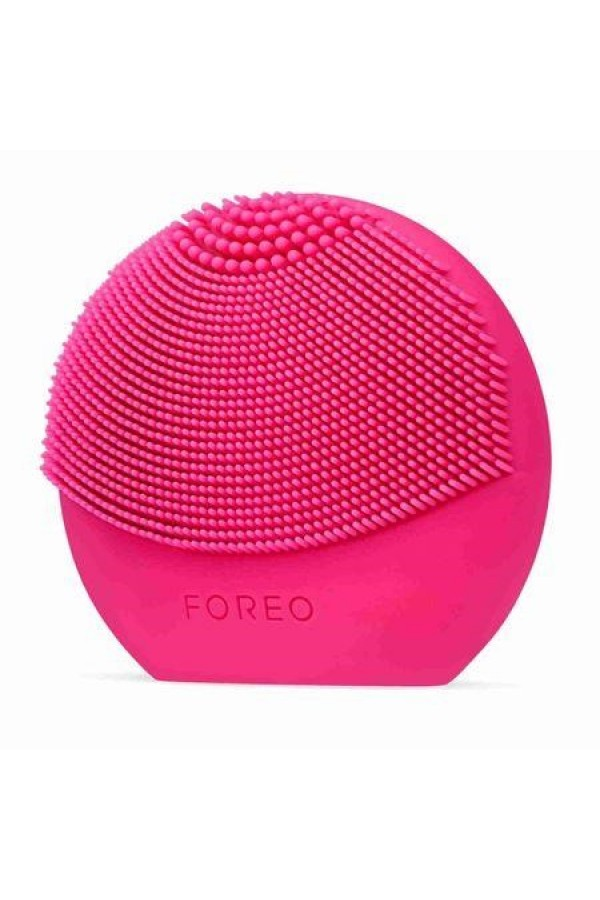 Face Skin Cleanser FOREO LUNA play plus, Fuchsia, 8000 rpm, 1 speed, Battery, Waterproof