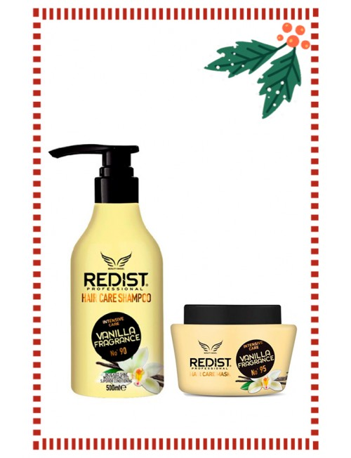 Set of Redist Professional Vanilla Fragance Shampoo 500ml. & Mask 500ml.