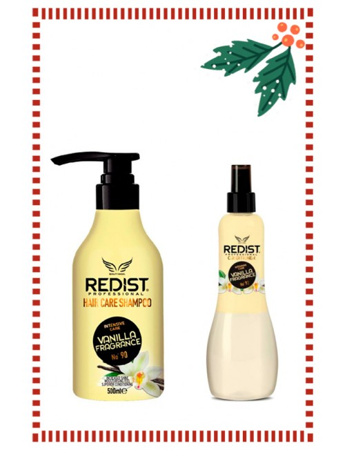 Set of Redist Professional Vanilla Fragance Shampoo 500ml. & Two Phase Conditioner  400ml.