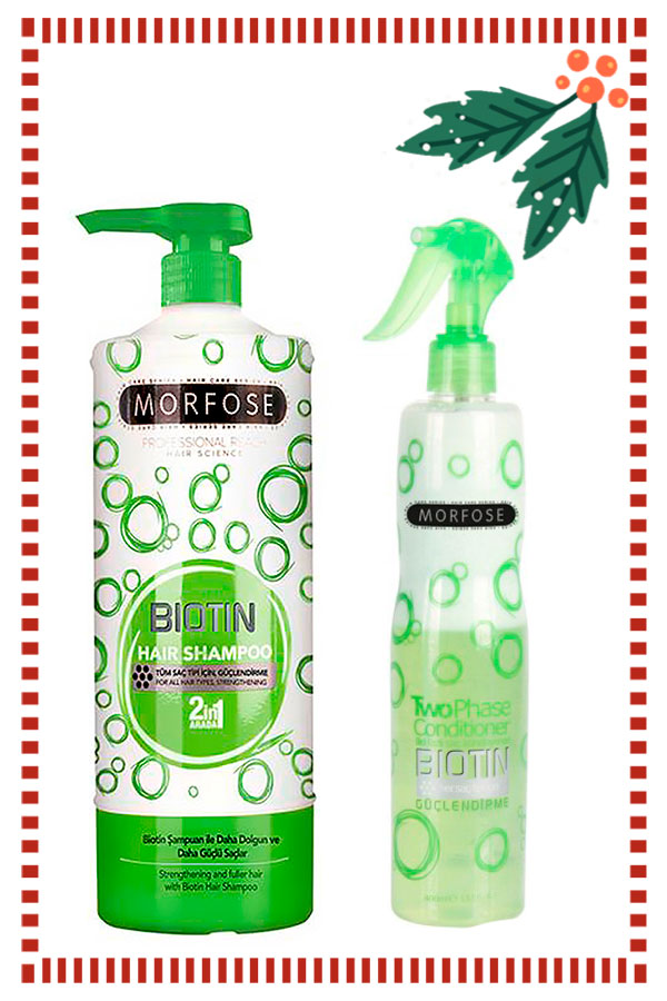 Set of Morfose Professional Shampoo 1l. & Two Phase Conditioner 400ml.